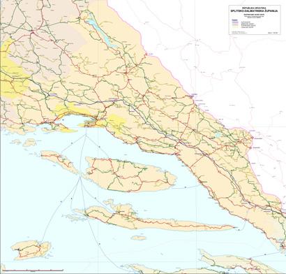 Zupanijske Ceste Split